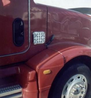 FITS:  EXTERIOR CAB FILTER 1987 – UP – PART NO.  19500 OR 19500C (Chrome)